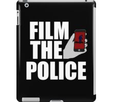 FILM THE POLICE (I CAN'T BREATHE)  iPad Case/Skin