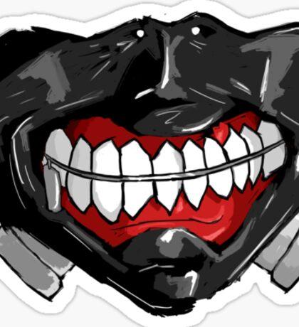 Tokyo Ghoul - Kaneki Mask Sticker