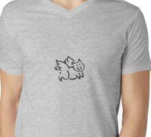 Pigs Fly Mens V-Neck T-Shirt