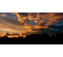 Power Sunrise (Macquarie Park). Photographic Print