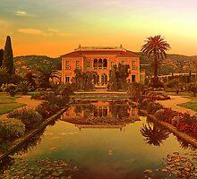 Villa Ephrussi de Rothschild, St-Jean-Cap-Ferrat, France by vadim19