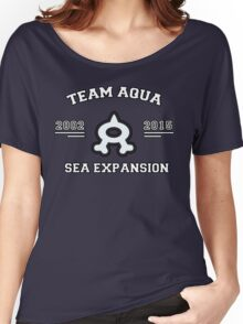 Team Aqua - Sea Expansion Women's Relaxed Fit T-Shirt