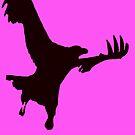 Eagle in Flight by Roz McQuillan