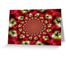Kaleidoscope Tulip Greeting Card