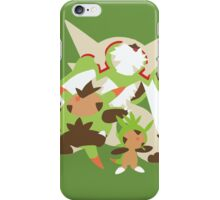 Chespin Evolution iPhone Case/Skin
