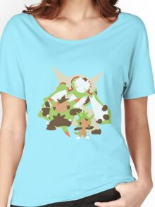Chespin Evolution Women's Relaxed Fit T-Shirt