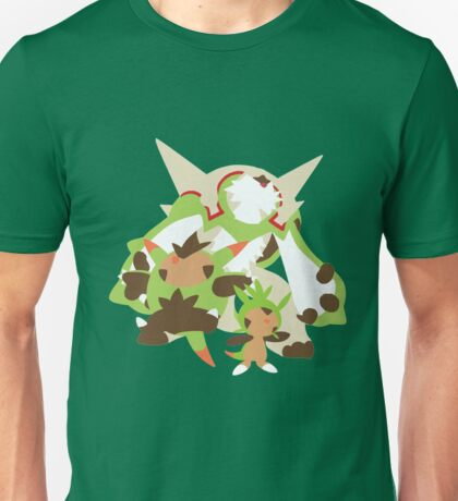 Chespin Evolution Unisex T-Shirt