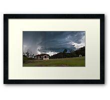 Derelict Storm Framed Print