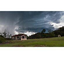 Derelict Storm Photographic Print