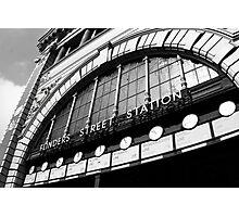 Flinders Street Station Photographic Print