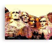 Carved In Stone Canvas Print