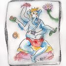 Ganesh - Chai and Pie by Tama Blough