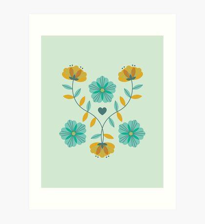 flowers everywhere/2 Art Print