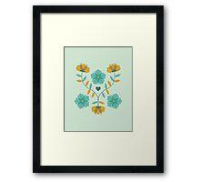 flowers everywhere/2 Framed Print