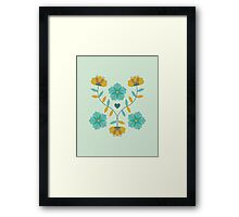 flowers everywhere/2 Framed Print