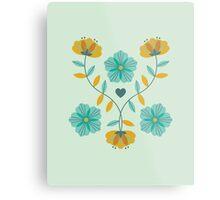 flowers everywhere/2 Metal Print