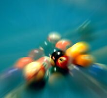 Pool Ball Break w/ Zoom Effect 1 by SteveOhlsen