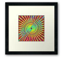 'Parallel Spiral' Framed Print