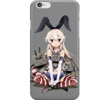 Shimakaze Sit iPhone Case/Skin