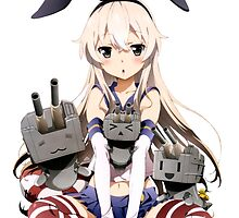 Shimakaze Sit by Revoltec17