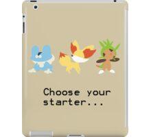 6th Gen Starters iPad Case/Skin