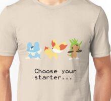 6th Gen Starters Unisex T-Shirt