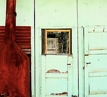 Swaggie's Hut by Ron Marton