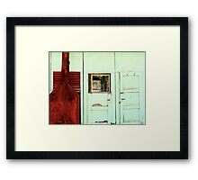 Swaggie's Hut Framed Print