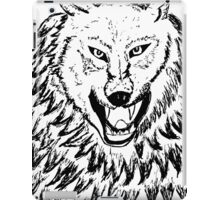 Abstract Wolf Sketch 2 iPad Case/Skin