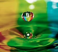 Drop of water by Tony Eccles