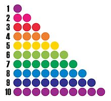 Number BRIGHTS! 1, 2, 3... by candymoondesign