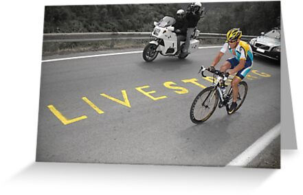 LANCE ARMSTRONG - LIVESTRONG by Eamon Fitzpatrick