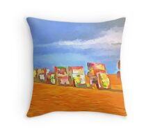 Caddy Ranch Throw Pillow
