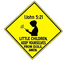 1 John 5:21 - Keep yourselves from idols. by Calgacus