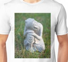 Buddha in the grass Unisex T-Shirt