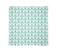 Squirrels pattern print designs minimal mint dots pastel pattern cell phone gift ideas nature Scarf