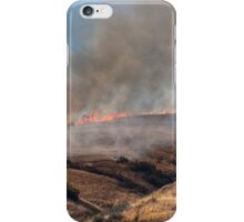 Yucaipa Fire, Crafton Hills, Fact of Life, 042715 iPhone Case/Skin