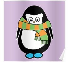 Hugo wearing a scarf Poster