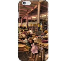 The Indoor Market at Guinea Conakry iPhone Case/Skin