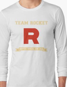Team Rocket Pokemon Long Sleeve T-Shirt