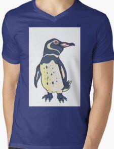 Galapagos Penguin Mens V-Neck T-Shirt
