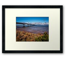 Confederation Bridge Framed Print