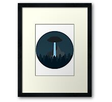 Aliens among us Framed Print