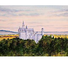Neuschwanstein Castle Bavaria Germany Photographic Print