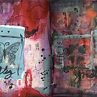 Art Journal - fly by Clare Reid