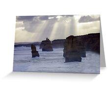 Great Ocean Road Apostles Greeting Card