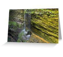 Rainbow Waterfalls Greeting Card
