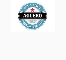 Sergio Aguero Manchester City parody logo Unisex T-Shirt
