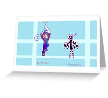 Two Misfits Greeting Card
