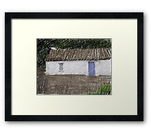 Donegal Cottage Framed Print